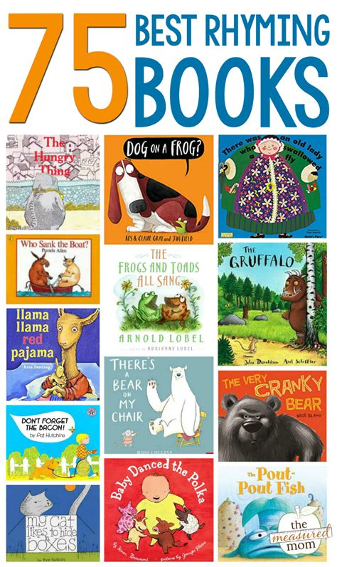 best rhyming picture books the ultimate list of books that rhyme the measured