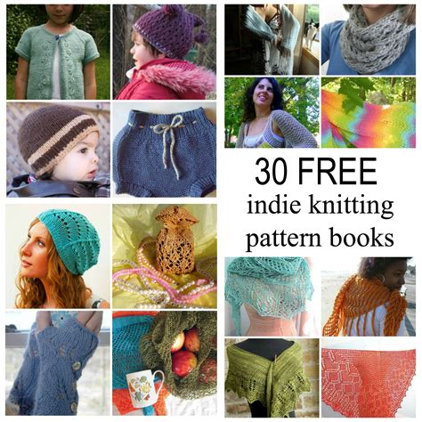books for knitting 5 free knitting pattern books with 25 free patterns