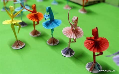 origami ballet dancer folk origami dancers 3 chinadaily cn