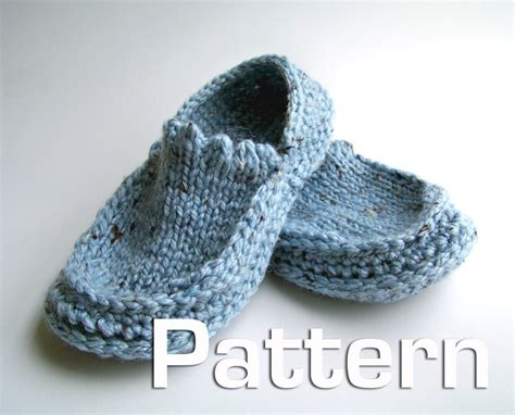 Patterns Knit Slippers 171 Free Patterns