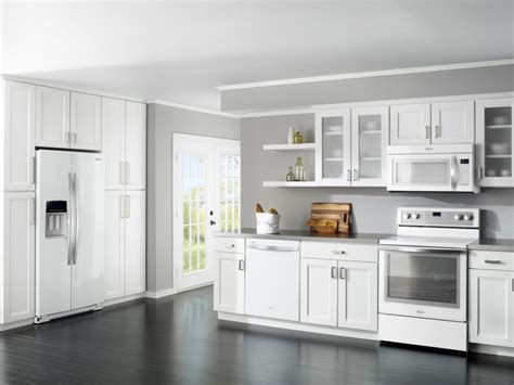 white kitchen cabinets with stainless steel appliances white kitchen cabinets with white appliances home
