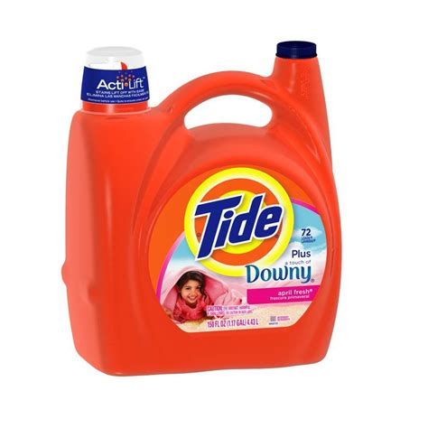downy laundry tide plus downy 150 oz april fresh scent liquid laundry