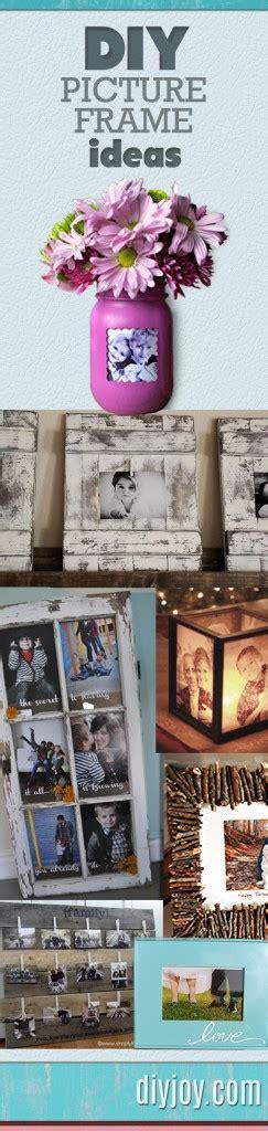 17 diy picture frames crafty ideas tutorials