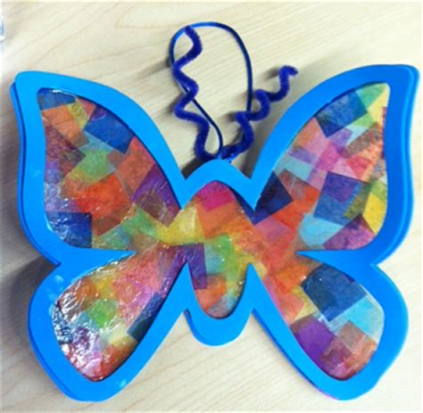butterfly craft projects activities for children and april 2012