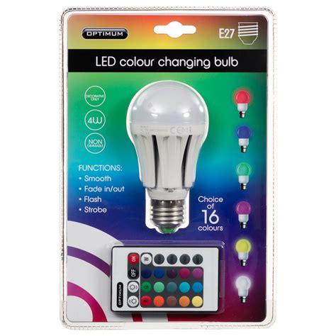 color changing led light bulb optimum led colour changing light bulb e27 diy bulbs
