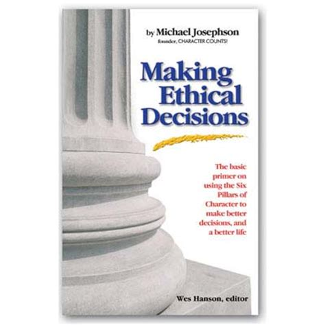 business ethics ethical decision cases character counts store e book business ethics