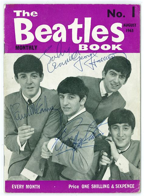 beatles picture book the beatles autographs presented by frank caiazzo