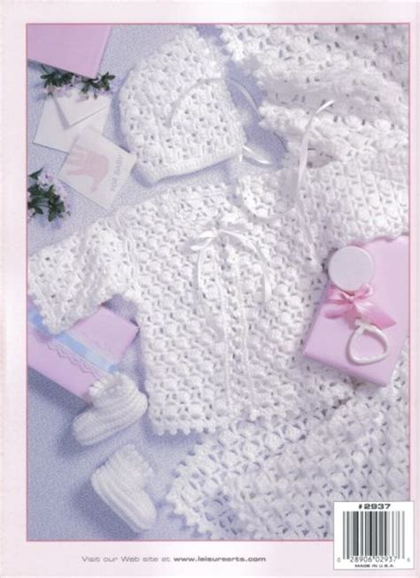 baby layette knitting patterns free lacy layettes baby crochet pattern book