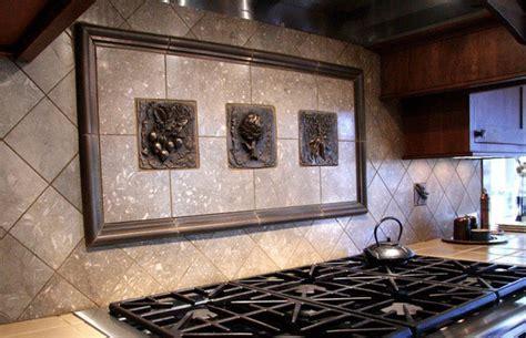White Brick Wall Mural kitchen backsplash mosaic and metal accent mural