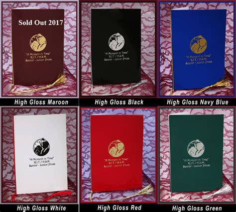 picture memory book prom memory books proms net the prom planning network
