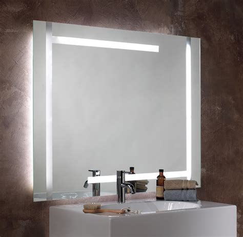 bathroom mirrors lighted seura studio lumination lighted mirror