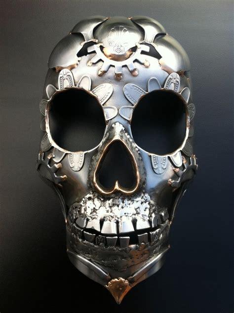 metal skull seen many sugar skulls here is the best