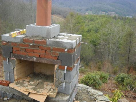 how to build fireplace how to build an outdoor fireplace step by step