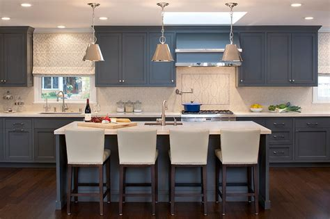 grey blue kitchen cabinets grey kitchen cabinets the best choice for your kitchen