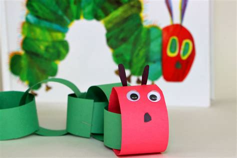 craft pictures for diy caterpillar craft for