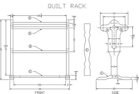free quilt rack woodworking plans free quilt rack woodworking plan from s wood projects