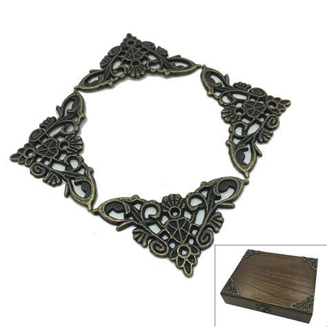 brass jewelry 4 x antique brass jewelry gift box wood decorative