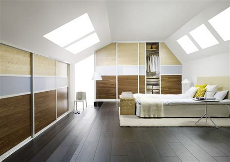 loft bedroom furniture fitted loft sloping ceiling and awkward space furniture