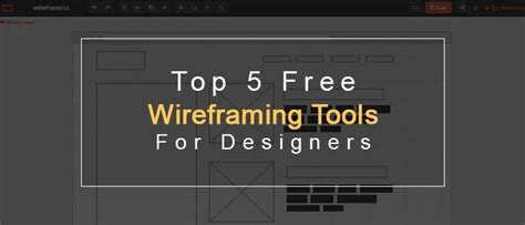best online wireframe tool top 5 free wireframing tools for designers sanjay web