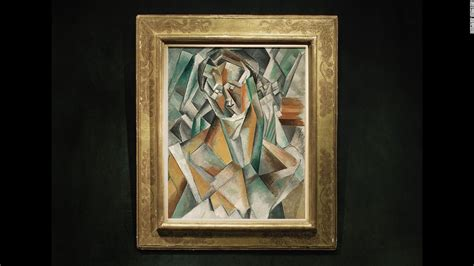 original picasso paintings value picasso s femme assise portrait sells for 63 4m cnn