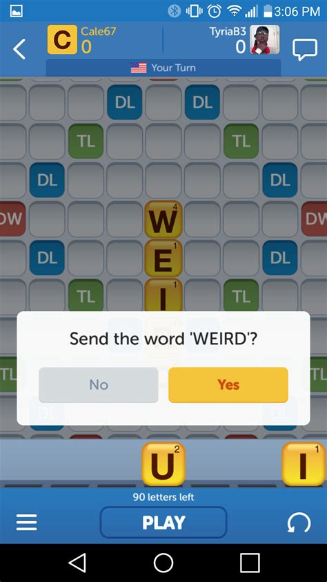 can you go diagonal in scrabble best word for android android central
