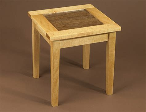woodworking plans side table occasional table