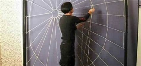 how to make a spider web craft for how to craft a person sized spiderweb out of rope
