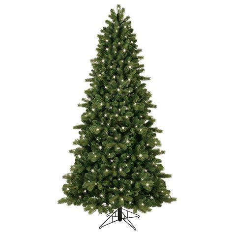 ge artificial tree ge 7 5 ft pre lit led energy smart just cut colorado