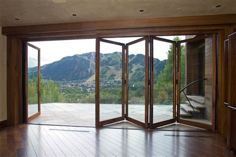 folding glass doors for patio grabill windows and doors product highlight folding doors