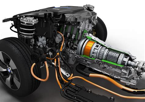 Hybrid Electric Motor by Bmw To Show 4 Production In Hybrids In Frankfurt