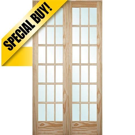 18 prehung interior door discount 9303 8 0 quot 18 lite pine interior prehung
