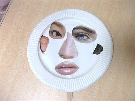paper plate mask craft paper plate mask craft preschool crafts for