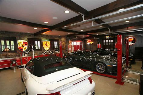 Custom Garage Design custom garage design and furnished by vault 174 our passion