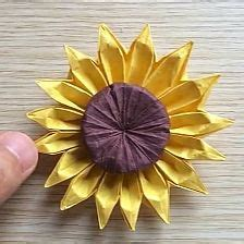 origami sunflower step by step 1000 ideas about origami flowers on origami
