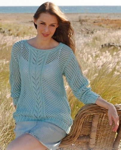 summer knitting knit summer sweater lace pattern made to order