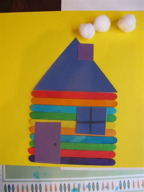 Best Photos Of House Crafts For Preschoolers My Family