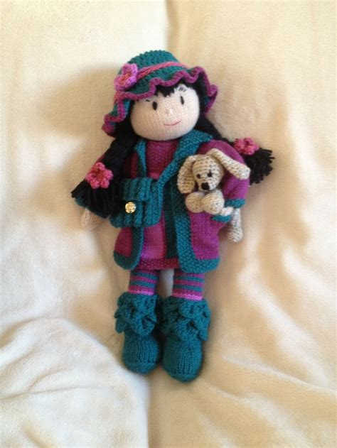 knit doll 64 best images about knit and crochet dolls and toys on