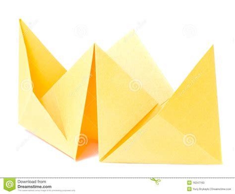 origami figure origami figure of boat stock photos image 16247163