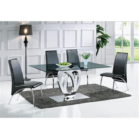 table de salle 224 manger design ellipse taille au choix