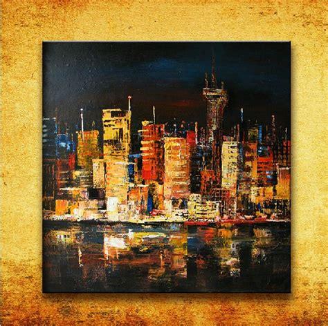 paint nite nyc coupon black new york city buildings canvas landscape