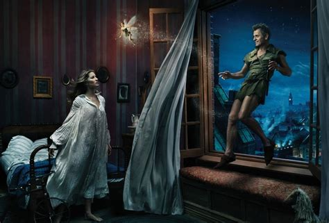 Michael Jackson Wallpaper For Bedroom by Gisele Bundchen As Wendy And Mikhail Baryshnikov As Peter