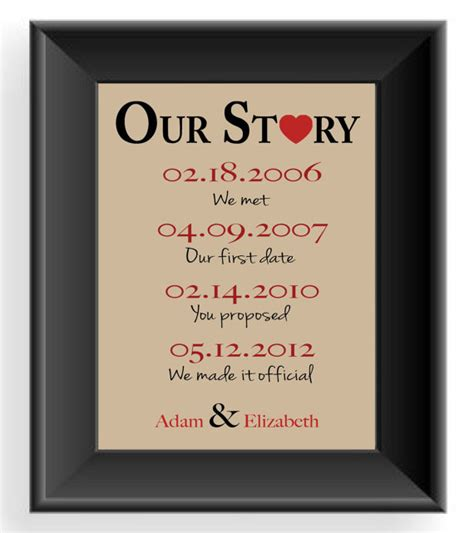 anniversary gift gift for husband important dates