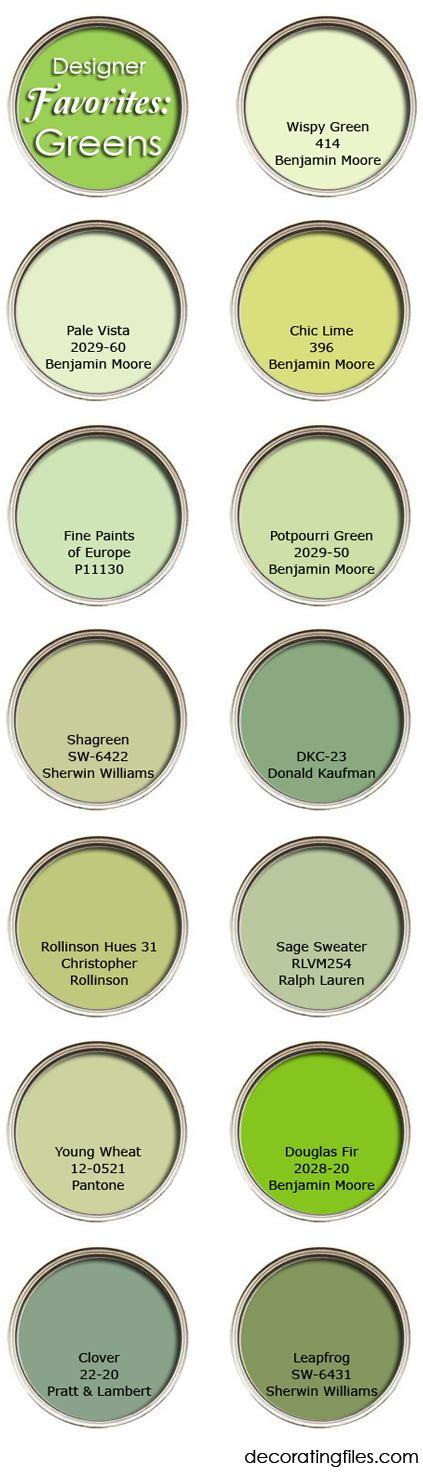 paint colors decorators use green paint colors favorite picks from designers