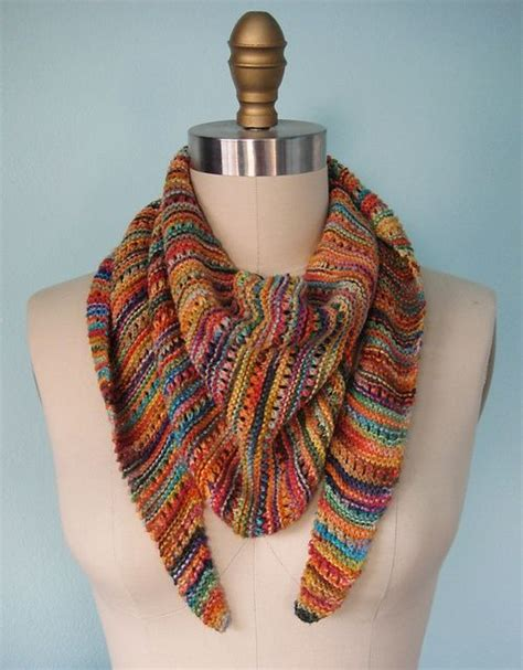 knitted scarf patterns using sock yarn 17 best images about crochet and knit on free