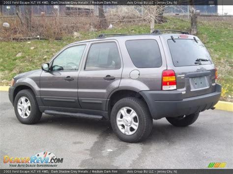2003 Ford Escape Xlt by 2003 Ford Escape Xlt V6 4wd Shadow Grey Metallic