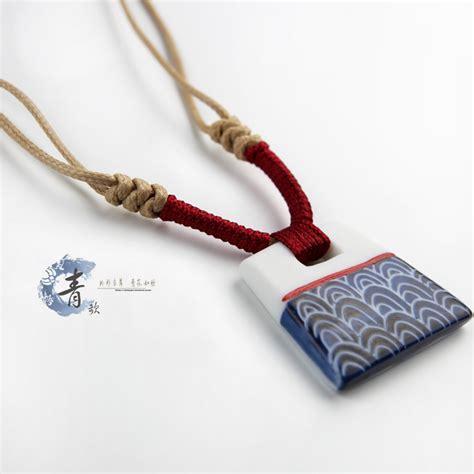 ceramic jewelry jewelry made ceramic original national wind ol