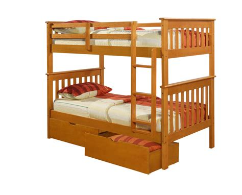 ebay bunk beds with mattresses mission bunk bed honey bunkbeds beds ebay