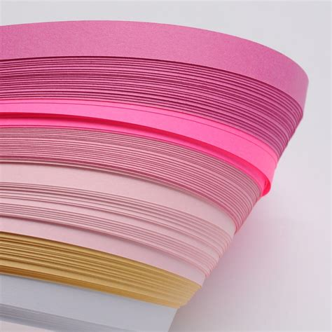 paper strips craft 1bag quilling paper strips muti color 530x10mm papercraft