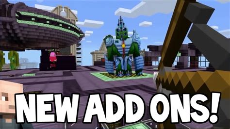 5 add ons mcpe addons minecraft pocket edition new addons