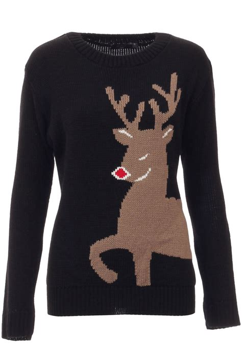 novelty knitted jumpers womens vintage retro sweater novelty knitted winter